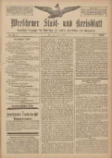 Wreschener Stadt und Kreisblatt: amtlicher Anzeiger für Wreschen, Miloslaw, Strzalkowo und Umgegend 1907.06.20 Nr73