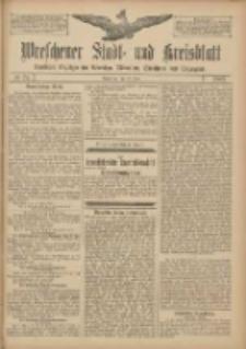 Wreschener Stadt und Kreisblatt: amtlicher Anzeiger für Wreschen, Miloslaw, Strzalkowo und Umgegend 1907.06.22 Nr74