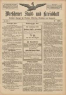 Wreschener Stadt und Kreisblatt: amtlicher Anzeiger für Wreschen, Miloslaw, Strzalkowo und Umgegend 1907.06.29 Nr77
