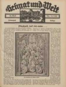 Heimat und Welt: Heimatpost: Beilage 1932.05.14 Nr18