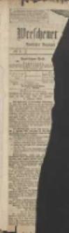 Wreschener Stadt und Kreisblatt: amtlicher Anzeiger für Wreschen, Miloslaw, Strzalkowo und Umgegend 1907.01.01 Nr1