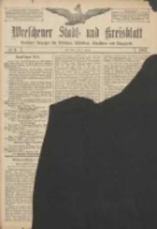 Wreschener Stadt und Kreisblatt: amtlicher Anzeiger für Wreschen, Miloslaw, Strzalkowo und Umgegend 1907.01.05 Nr3