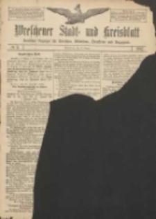 Wreschener Stadt und Kreisblatt: amtlicher Anzeiger für Wreschen, Miloslaw, Strzalkowo und Umgegend 1907.01.10 Nr5