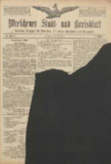 Wreschener Stadt und Kreisblatt: amtlicher Anzeiger für Wreschen, Miloslaw, Strzalkowo und Umgegend 1907.01.24 Nr11
