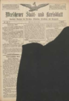Wreschener Stadt und Kreisblatt: amtlicher Anzeiger für Wreschen, Miloslaw, Strzalkowo und Umgegend 1907.01.26 Nr12