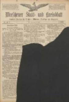 Wreschener Stadt und Kreisblatt: amtlicher Anzeiger für Wreschen, Miloslaw, Strzalkowo und Umgegend 1907.01.29 Nr13