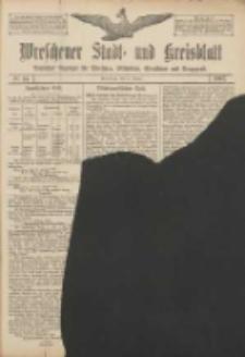 Wreschener Stadt und Kreisblatt: amtlicher Anzeiger für Wreschen, Miloslaw, Strzalkowo und Umgegend 1907.01.31 Nr14