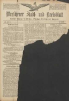 Wreschener Stadt und Kreisblatt: amtlicher Anzeiger für Wreschen, Miloslaw, Strzalkowo und Umgegend 1907.02.02 Nr15