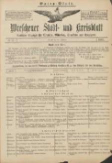 Wreschener Stadt und Kreisblatt: amtlicher Anzeiger für Wreschen, Miloslaw, Strzalkowo und Umgegend 1907.02.05 Nr17. Extra Blatt
