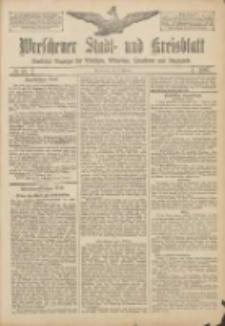 Wreschener Stadt und Kreisblatt: amtlicher Anzeiger für Wreschen, Miloslaw, Strzalkowo und Umgegend 1907.02.07 Nr18
