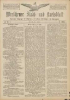 Wreschener Stadt und Kreisblatt: amtlicher Anzeiger für Wreschen, Miloslaw, Strzalkowo und Umgegend 1907.02.09 Nr19