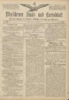 Wreschener Stadt und Kreisblatt: amtlicher Anzeiger für Wreschen, Miloslaw, Strzalkowo und Umgegend 1907.02.12 Nr20