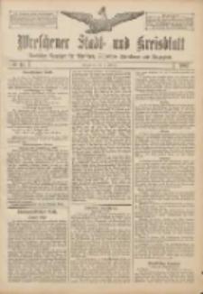 Wreschener Stadt und Kreisblatt: amtlicher Anzeiger für Wreschen, Miloslaw, Strzalkowo und Umgegend 1907.02.14 Nr21