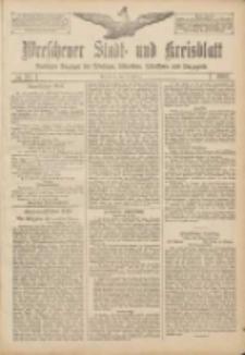 Wreschener Stadt und Kreisblatt: amtlicher Anzeiger für Wreschen, Miloslaw, Strzalkowo und Umgegend 1907.02.16 Nr22