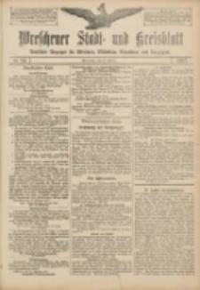 Wreschener Stadt und Kreisblatt: amtlicher Anzeiger für Wreschen, Miloslaw, Strzalkowo und Umgegend 1907.02.21 Nr24
