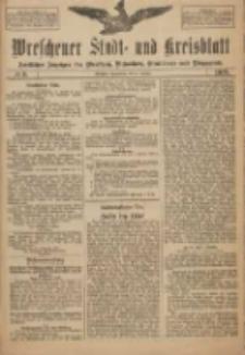 Wreschener Stadt und Kreisblatt: amtlicher Anzeiger für Wreschen, Miloslaw, Strzalkowo und Umgegend 1918.01.05 Nr3