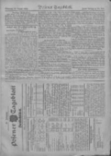 Posener Tageblatt. Handelsblatt 1908.08.25 Jg.47