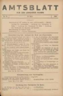 Amtsblatt für den Landkreis Konin 1940.03.28 Nr19
