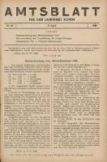 Amtsblatt für den Landkreis Konin 1940.04.09 Nr22