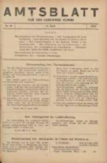 Amtsblatt für den Landkreis Konin 1940.04.12 Nr23
