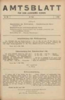 Amtsblatt für den Landkreis Konin 1940.05.10 Nr28
