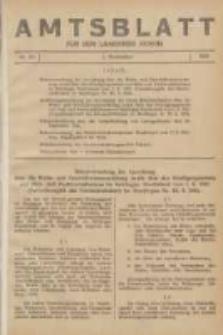 Amtsblatt für den Landkreis Konin 1941.11.01 Nr28