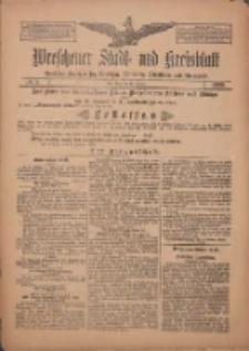 Wreschener Stadt und Kreisblatt: amtlicher Anzeiger für Wreschen, Miloslaw, Strzalkowo und Umgegend 1909.01.19 Nr8