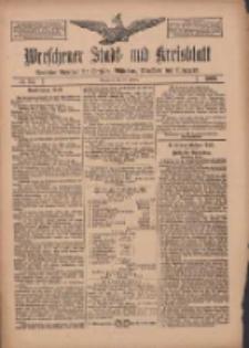 Wreschener Stadt und Kreisblatt: amtlicher Anzeiger für Wreschen, Miloslaw, Strzalkowo und Umgegend 1909.02.25 Nr24
