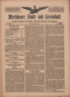 Wreschener Stadt und Kreisblatt: amtlicher Anzeiger für Wreschen, Miloslaw, Strzalkowo und Umgegend 1909.03.23 Nr35