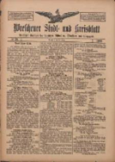 Wreschener Stadt und Kreisblatt: amtlicher Anzeiger für Wreschen, Miloslaw, Strzalkowo und Umgegend 1909.03.30 Nr38