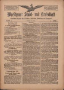 Wreschener Stadt und Kreisblatt: amtlicher Anzeiger für Wreschen, Miloslaw, Strzalkowo und Umgegend 1909.04.01 Nr39
