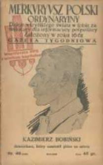 Merkuryusz Polski Ordynaryiny: dzieie wszystkiego świata w sobie zamykaiący dla informacyey pospolitey. 1936.10.16 Nr49