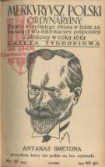 Merkuryusz Polski Ordynaryiny: dzieie wszystkiego świata w sobie zamykaiący dla informacyey pospolitey. 1939.04.02 Nr17