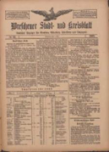 Wreschener Stadt und Kreisblatt: amtlicher Anzeiger für Wreschen, Miloslaw, Strzalkowo und Umgegend 1909.05.04 Nr52