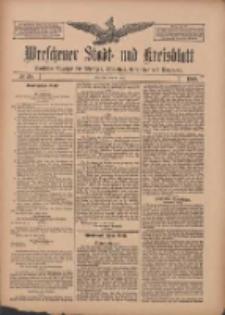Wreschener Stadt und Kreisblatt: amtlicher Anzeiger für Wreschen, Miloslaw, Strzalkowo und Umgegend 1909.05.18 Nr58