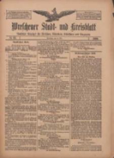 Wreschener Stadt und Kreisblatt: amtlicher Anzeiger für Wreschen, Miloslaw, Strzalkowo und Umgegend 1909.05.29 Nr63