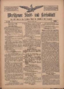 Wreschener Stadt und Kreisblatt: amtlicher Anzeiger für Wreschen, Miloslaw, Strzalkowo und Umgegend 1909.06.15 Nr69