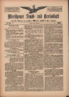 Wreschener Stadt und Kreisblatt: amtlicher Anzeiger für Wreschen, Miloslaw, Strzalkowo und Umgegend 1909.08.03 Nr90