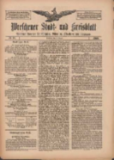 Wreschener Stadt und Kreisblatt: amtlicher Anzeiger für Wreschen, Miloslaw, Strzalkowo und Umgegend 1909.08.21 Nr98