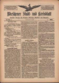 Wreschener Stadt und Kreisblatt: amtlicher Anzeiger für Wreschen, Miloslaw, Strzalkowo und Umgegend 1909.08.26 Nr100