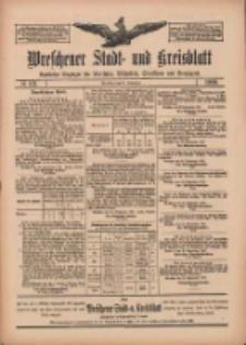 Wreschener Stadt und Kreisblatt: amtlicher Anzeiger für Wreschen, Miloslaw, Strzalkowo und Umgegend 1909.09.25 Nr113