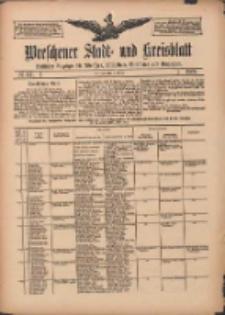 Wreschener Stadt und Kreisblatt: amtlicher Anzeiger für Wreschen, Miloslaw, Strzalkowo und Umgegend 1909.10.05 Nr117