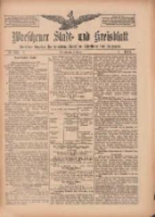 Wreschener Stadt und Kreisblatt: amtlicher Anzeiger für Wreschen, Miloslaw, Strzalkowo und Umgegend 1909.10.19 Nr123