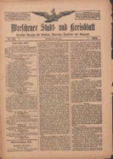Wreschener Stadt und Kreisblatt: amtlicher Anzeiger für Wreschen, Miloslaw, Strzalkowo und Umgegend 1909.11.06 Nr132