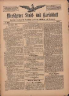 Wreschener Stadt und Kreisblatt: amtlicher Anzeiger für Wreschen, Miloslaw, Strzalkowo und Umgegend 1909.11.09 Nr133