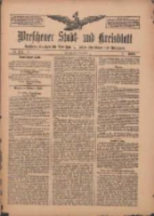 Wreschener Stadt und Kreisblatt: amtlicher Anzeiger für Wreschen, Miloslaw, Strzalkowo und Umgegend 1909.11.11 Nr134