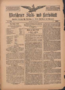 Wreschener Stadt und Kreisblatt: amtlicher Anzeiger für Wreschen, Miloslaw, Strzalkowo und Umgegend 1909.11.23 Nr139