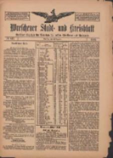 Wreschener Stadt und Kreisblatt: amtlicher Anzeiger für Wreschen, Miloslaw, Strzalkowo und Umgegend 1909.12.11 Nr147