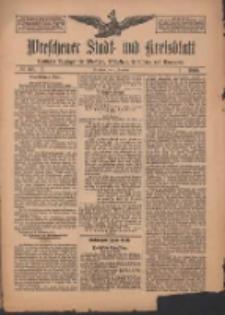 Wreschener Stadt und Kreisblatt: amtlicher Anzeiger für Wreschen, Miloslaw, Strzalkowo und Umgegend 1909.12.21 Nr151