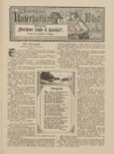 """Illustriertes Unterhaltungs-Blatt: Beilage zum """"Wreschener Stadt- & Kraisblatt"""" 1912 Nr21"""